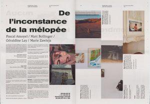 D. E. CHAPELLE SAINT JACQUES ART CENTRE -Programme Spread (2018)-30