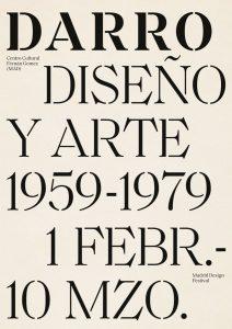 """D. E. DARRO """"DESIGN AND ART 1959-1979"""" -Exhibition posters (2019)-17"""