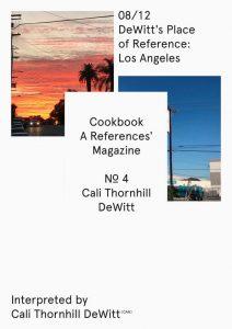 D. E. COOKBOOK MAGAZINE Nº4 CALI THORNHILL DEWITT-07/12 and 08/12 Covers (2019)-108